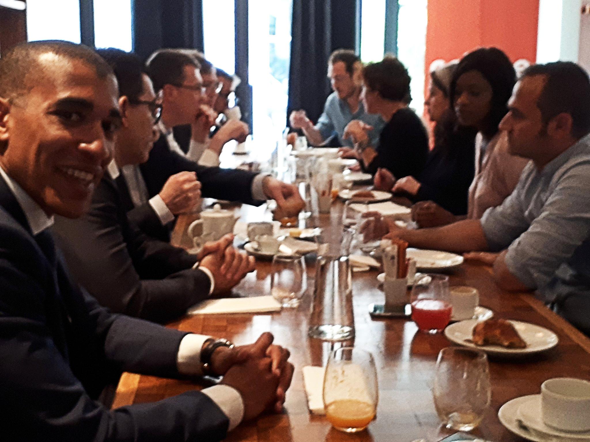 Petit déjeuner d'accueil des nouveaux consultants membres du réseau Colibee !
